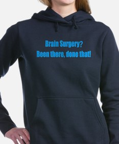 Funny Brain Surgery Women's Hooded Sweatshirt