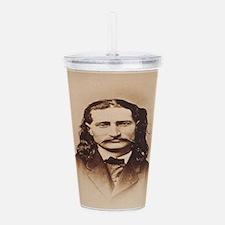 Wild Bill Hickok Acrylic Double-wall Tumbler
