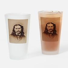 Wild Bill Hickok Drinking Glass