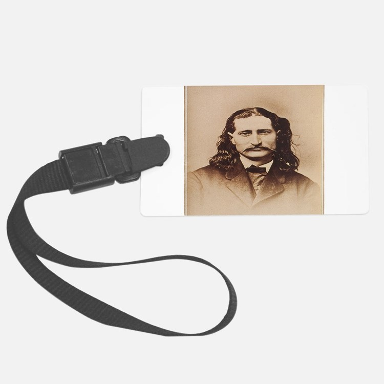 Wild Bill Hickok Luggage Tag