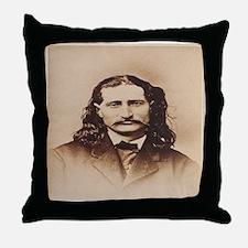 Wild Bill Hickok Throw Pillow