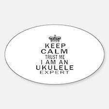 I Am Ukulele Expert Decal