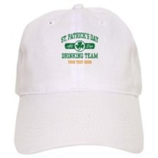 St. Patrick's Day Drinking Team Personalized Baseball Baseball Cap