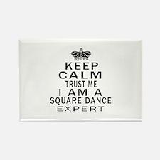 Square dance Dance Expert Designs Rectangle Magnet