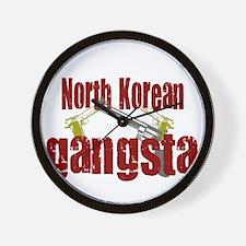 North Korean Gangsta Wall Clock