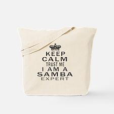 Samba Dance Expert Designs Tote Bag