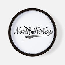 North Korea Flanger Wall Clock