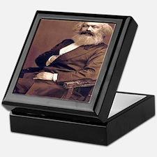 Karl Marx Keepsake Box