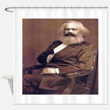 Karl Marx Shower Curtain