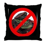 No Orcs Throw Pillow