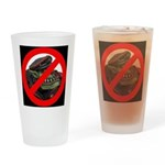 No Orcs Drinking Glass