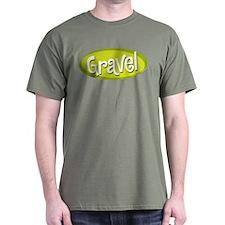 Retro Gravel Military Green Tee
