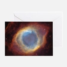 Helix Nebula Greeting Card