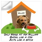 Anti hillary Wall Decals