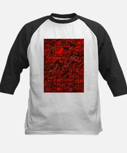 Abstract Glass Bent Bright Contras Baseball Jersey