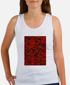Abstract Glass Bent Bright Contrasts Artw Tank Top