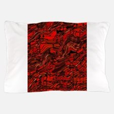Abstract Glass Bent Bright Contrasts A Pillow Case