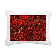 Abstract Glass Bent Brig Rectangular Canvas Pillow
