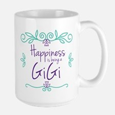 Happiness is being a GiGi Large Mug