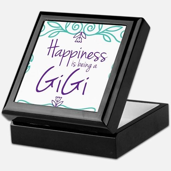 Happiness is being a GiGi Keepsake Box