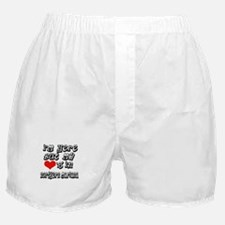 Heart in Northern Mariana Boxer Shorts