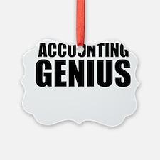 Accounting Genius Ornament