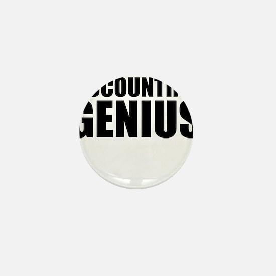 Accounting Genius Mini Button