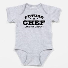Cute Chef of the future Baby Bodysuit
