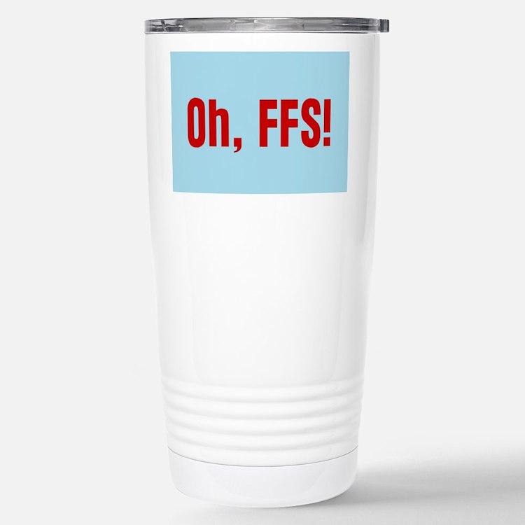 Cute Exasperation Travel Mug