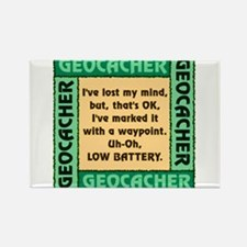 GEOCACHER Rectangle Magnet