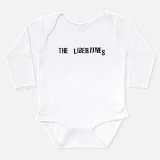 Cute Strokes Long Sleeve Infant Bodysuit
