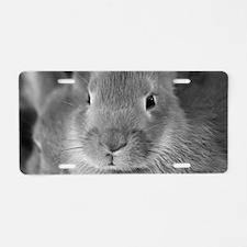 Animal Bunny Cute Ears East Aluminum License Plate