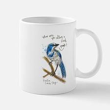 FL Scrub Jay Art Mugs