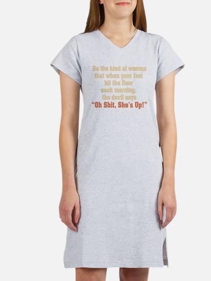 Cute Funny Women's Nightshirt