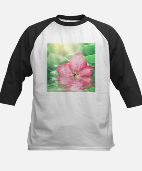 Water Flower Baseball Jersey