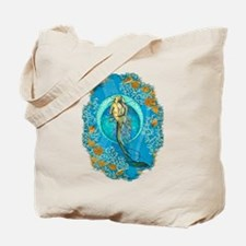 Nautical Mermaid Tote Bag