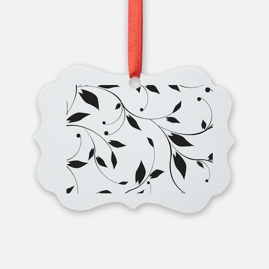 Elegant Leaves Ornament