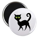 Cat With Green Eyes Magnet