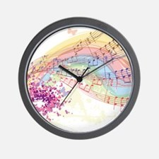 Colorful Music Wall Clock