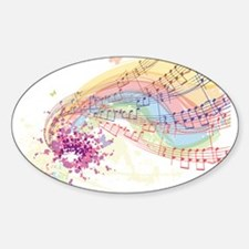 Colorful Music Decal