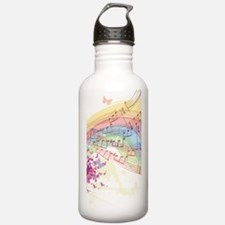 Colorful Music Sports Water Bottle