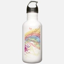 Colorful Music Water Bottle