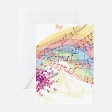 Colorful Music Greeting Cards