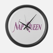 Nap Queen Large Wall Clock