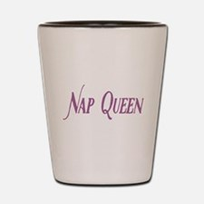 Nap Queen Shot Glass
