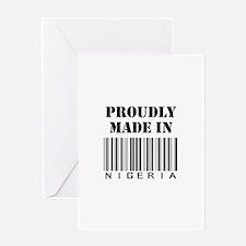 Made in Nigeria Greeting Card