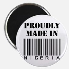 Made in Nigeria Magnet