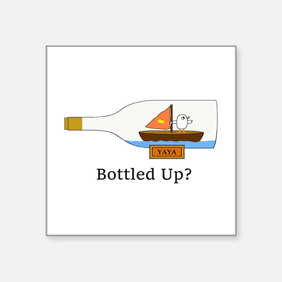 Bottled Up Sticker