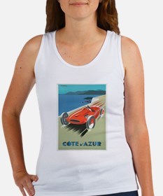 Vintage poster - French Riviera Tank Top