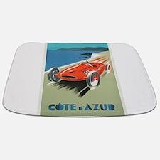 Vintage poster - French Riviera Bathmat